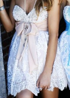 Lace  Pearl Dress     #my style