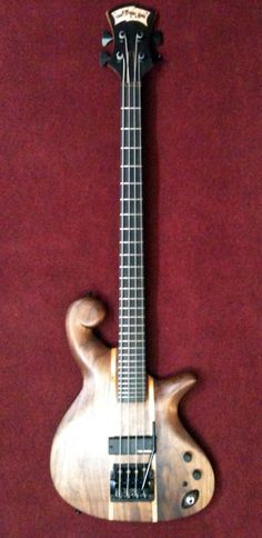 Les Claypool's custom Carl Thompson Bass with tremolo Sound Of Music, Live Music, Les Claypool, I Love Bass, Custom Bass, Low End, Guitar Stand, Low Life, Bass Guitars