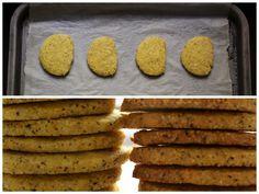 Saffron Polenta Shortbread - http://realsimplefood.wordpress.com