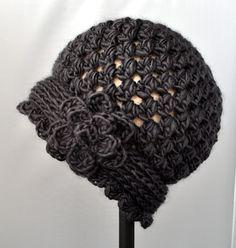 Free Crochet Cloche Hat Pattern Crochet Vintage Flowered Cloche Pattern Classy Crochet Free Crochet Cloche Hat Pattern Colorscape Cloche Hat Free Crochet Pattern All Easy Pattern. Crochet Vintage, Knit Or Crochet, Crochet Scarves, Crochet Crafts, Yarn Crafts, Crochet Clothes, Crochet Projects, Crocheted Hats, Crotchet