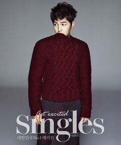 Song Joong Ki shows off a variety of charms in a pictorial  November 19, 2012