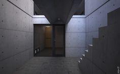 Tadao Ando 安藤忠雄 : Row House / Azuma House 住吉の長屋 #ando #architecture #tadao Pinned by www.modlar.com