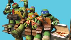 """Nickelodeon Reimagines The Iconic """"Teenage Mutant Ninja Turtles"""" In All-New Animated Series, """"Rise Of The Teenage Mutant Ninja Turtles"""" Ninja Turtles Art, Teenage Mutant Ninja Turtles, Tmnt Wallpaper, Tmnt Human, Tmnt Girls, Tmnt Comics, Tmnt 2012, Otaku, Fan Art"""