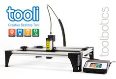 Plot, Airbrush, Laser, Dispense. Tooli the creative CNC tool by Troy Cundy — Kickstarter