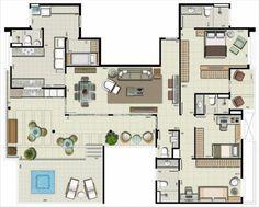 10 modelos de plantas de casas para 2016