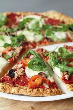 Easy Healthy Breakfast Ideas & Recipe to Start Excited Day Healthy Pizza, Easy Healthy Breakfast, Healthy Dishes, Healthy Baking, Healthy Snacks, Breakfast Ideas, Tapas, Love Food, A Food