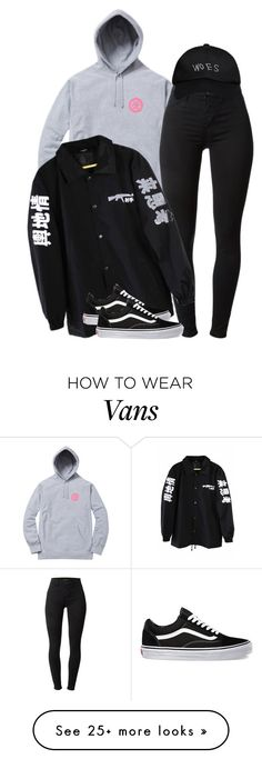 """""""Untitled #2040"""" by dreakagotswagg on Polyvore featuring J Brand, Vans and October's Very Own"""