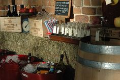 Country party - drinks station
