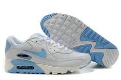 Nike Air Max 90 Herren Schuhe Grau/Blau