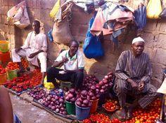 Produce vendors in Dutse Market, Dutse, Abuja, Nigeria. #JujuFilms