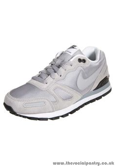 21b4d5397587 Mens Trainers   GFG2G02BJ63G   Nike AIR WAFFLE TRAINER – Trainers – wolf  grey black
