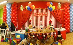 Victoria Decoração Infantil : Decoração Circo Vintage - Arthur