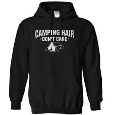 Are you are proud camper who doesn't care about that camping hair? Way to go! You should be proud of that camping hair, because you earned it! Now you can feel free to show off that love for all thing