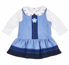 Keep your little cutie stylish without sacrificing comfort by adding Florence Eiseman clothing and dresses to his or her wardrobe. Flower Dresses, Nice Dresses, Summer Dresses, Jumper Outfit, Hipster Babies, Embroidered Blouse, Toddler Fashion, Frocks, Corduroy