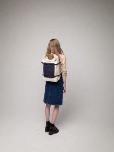 Gift ideas: U-tility Backpack Off White (Free Worldwide Shipping)