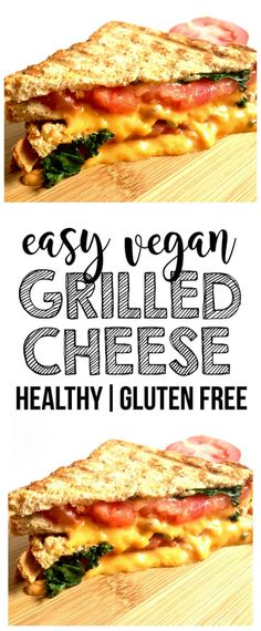 Easy Vegan Grilled Cheese (Gluten-Free)