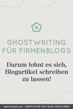 Ghostwriter für Unternehmensblogs, Redaktion für Corporate Blogs, Agentur Spatz, Text Agentur, Werbetexter, Kommunikationsagentur, gute Texte schreiben lassen und Texte kaufen, Ghostwriter für Blogbeiträge gesucht, Content Marketing Agentur aus Österreich, Online-Kurse für gute Texte schreiben lernen, www.agenturspatz.com #textagentur #kommunikationsagentur #werbetexter #ghostwriter #contentmarketing Content Marketing, Ghostwriter, Corporate, Social Media, Videos, Learning To Write, Copywriting, Social Networks, Video Clip