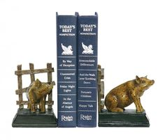 Sterling Home - Animal Accents, Lamps & Clocks on Joss & Main Sterling Homes, Friday Night Lights, Joss And Main, Decorative Objects, Nonfiction, Bookends, Household, Sculptures, Children
