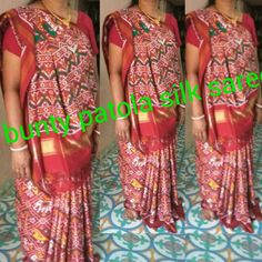 + 919374119680 WhatsApp.  Real silk. pure traditional designer handweaving double ikkat patola silk sarees.