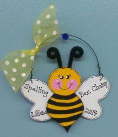 Bumble Bee Ornament GingerbreadDreams4U Etsy