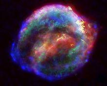 Johannes Kepler – Reste der 1604 beobachteten Supernova (Nasa)