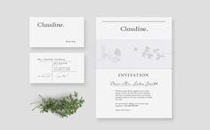 Claudine Floral Shop on Behance