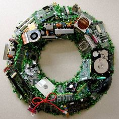 Geeky Wreath