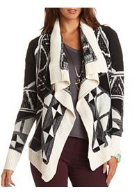 Sweater Tops, Cropped Sweaters, Button Up Cardigan, Cover Ups: Charlotte Russe