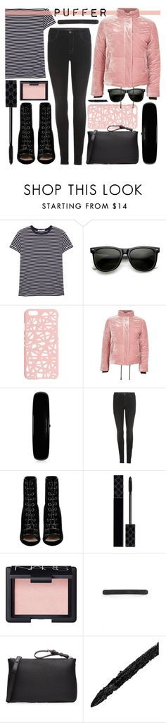 """puffy me"" by foundlostme ❤ liked on Polyvore featuring T By Alexander Wang, ZeroUV, Miss Selfridge, Topshop, Marc Jacobs, J Brand, Barbara Bui, Gucci, NARS Cosmetics and L. Erickson"