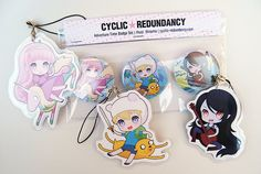 Adventure Time - buttons and straps by Ninamo-chan on DeviantArt