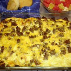 Super Easy Breakfast Casserole