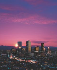 Denver. Going back in January. Possibly moving there next year? #fingerscrossed