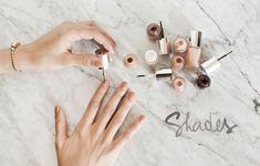 clinique polish. nude so chic!