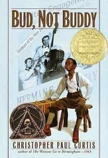 Reading Is Thinking: Bud, Not Buddy. It is one of my favorites gives raw emotion of what life back then was like.:-)  won't spoil it for you!
