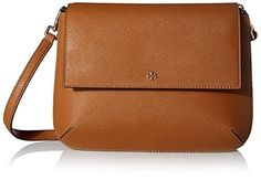 Women's Cross-Body Handbags - Tory Burch Womens Robinson CrossBody Tigers Eye -- You can get more details by clicking on the image.