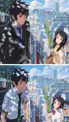 Kimi no Na Wa #before_and_after