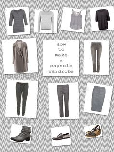 66 Item Challenge: Grey and taupe as neutrals often a softer alternative to black while being equally versatile. It also works beautifully for those who love silver in their jewellry and accessories.