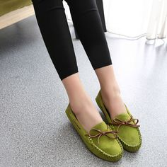 3050f174e49 NEW LADIES LOAFER CREEPER CHUNKY SOLE BOW FLAT SCHOOL WORK DOLLY SHOES SIZE