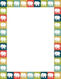 Image result for elephant border