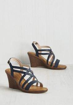 From Crosswalk to Catwalk Wedge, @ModCloth