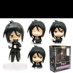 Kuroshitsuji (Black Butler) Sebastian Michaelis chibi action figures