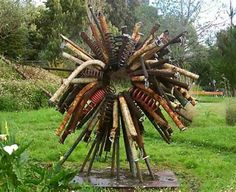 Image detail for -Bottle Tree from Mississippi artist Stephanie Dwyer