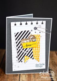 The Hello Life kit is so great for making quick cards!~ Mercedes Weber