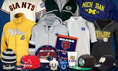 Groupon - College and Pro-Sports Apparel and Accessories with Free Shipping from SportsFreak365 (Up to 54% Off) in Online Deal. Groupon deal price: $25.00