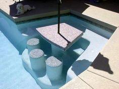 Custom Water Seating Design