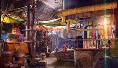 Marrakesh Marketplace by WolfeWOLF.deviantart.com on @DeviantArt