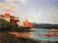 The point of the port of Saint-Tropez - Francis Picabia