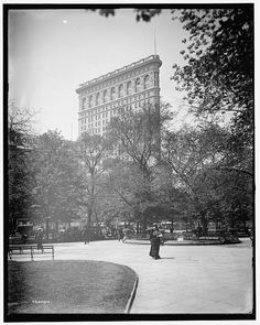 Madison Square Park, early 1900s