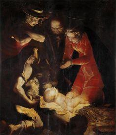 """""""Natività"""" by Luca Cambiaso, 1550"""