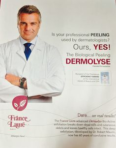 Yeah for Friday!  Join CSS March 2nd and learn all about France Laure's award winning Dermolyse Peel! Understand how this peel can change the lives of your acne clients, producing clear beautiful skin! Sign up, this educational class is free!  Customerservice@californiaskincaresupply.com